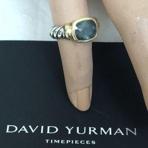 ❤️❤️Authentic David Yurman Blue Topaz Ring 💚💖